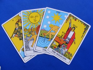 4 tarot cards spread